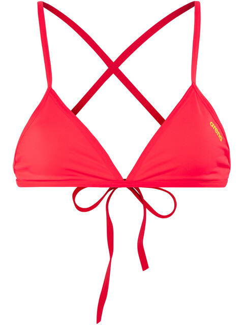 arena Feel Triangle Top Women fluo red-yellow star